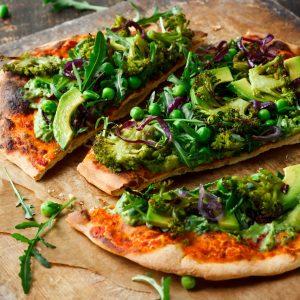 Pizza con verdure!